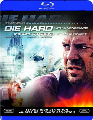 Die Hard 3: Die Hard With a Vengeance (Blu-ray) (Bilingual) BLU-RAY Movie