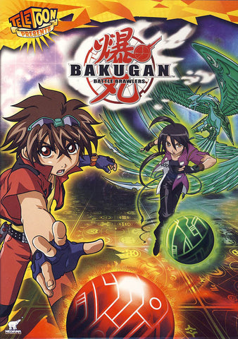 Bakugan - Battle Brawlers Vol. 1 (Bilingual) DVD Movie