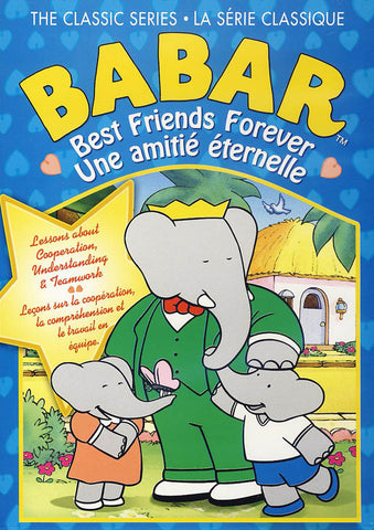 Babar - The Classic Series - Best Friends Forever (Bilingual) DVD Movie