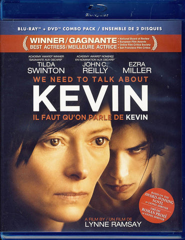 We Need to Talk About Kevin (Blu-ray + DVD) (Blu-ray) (Bilingual) BLU-RAY Movie