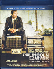 The Lincoln Lawyer (Bilingual) (Blu-ray + DVD Combo)(Blu-ray)