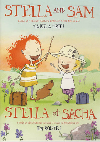 Stella and Sam (Stella et Sacha) : Take a Trip (Bilingual) DVD Movie