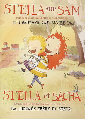 Stella and Sam (Stella et Sacha) - It s Brother and Sister Day (Bilingual) DVD Movie