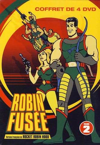Robin Fusee (Rocket Robin Hood) Vol. 2 (French only)(Boxset) DVD Movie