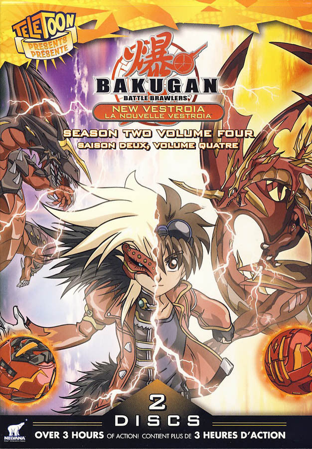 bakugan season 2 volume 4 bilingual on dvd movie