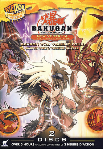 Bakugan - Season 2 - Volume 4 (Bilingual) DVD Movie