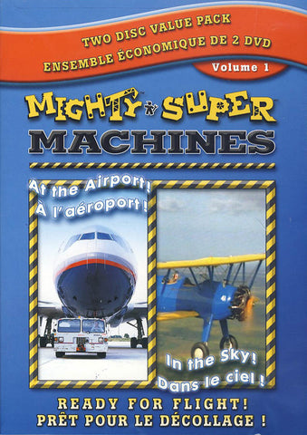 Mighty Super Machines Double Pack - Volume 1 (Bilingual) DVD Movie