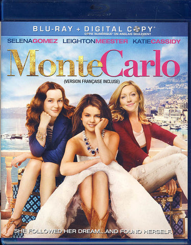 Monte Carlo (Blu Ray+Digital Copy) (Blu-ray) (Bilingual) BLU-RAY Movie