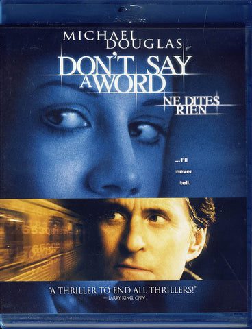 Don t Say A Word (Blu-ray) (Bilingual) BLU-RAY Movie
