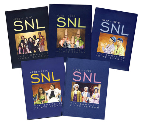 Saturday Night Live - The Original Cast - Season 1-5 (Boxset) DVD Movie