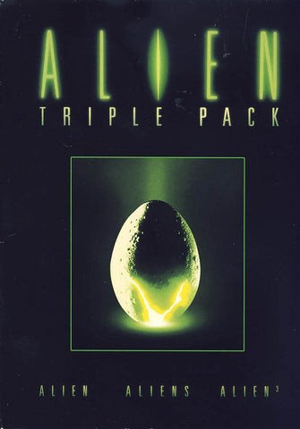 Alien Triple Pack (Alien / Aliens / Alien 3) (Boxset) DVD Movie