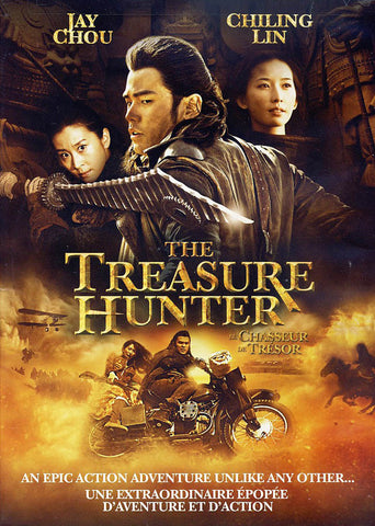 The Treasure Hunter (Bilingual) (Jay Chou) DVD Movie
