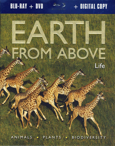 Earth From Above: Life (Blu-ray) BLU-RAY Movie