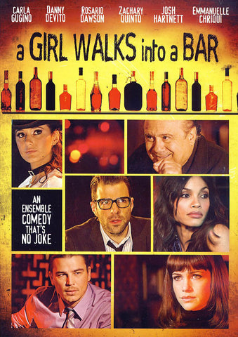 A Girl Walks into a Bar DVD Movie