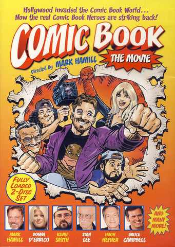 Comic Book: The Movie DVD Movie