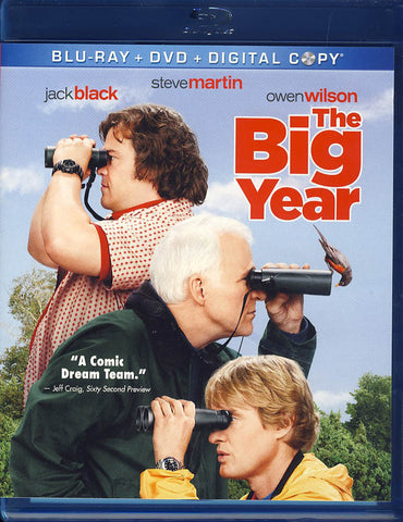 The Big Year (Blu-ray+DVD)(Blu-ray) BLU-RAY Movie