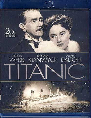 Titanic (1953) (Clifton Webb) (Blu-ray) BLU-RAY Movie