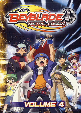 Beyblade: Metal Fusion Volume 4 DVD Movie