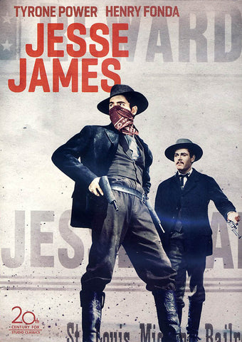 Jesse James (Tyrone Power) DVD Movie