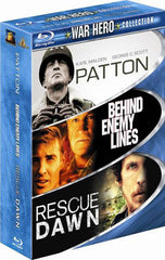 Patton / Behind Enemy Lines / Rescue Dawn (War Hero Collection) (Boxset) (Blu-ray)