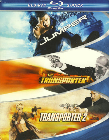 Jumper / Transporter / Transporter 2 (Boxset) (Blu-ray) BLU-RAY Movie