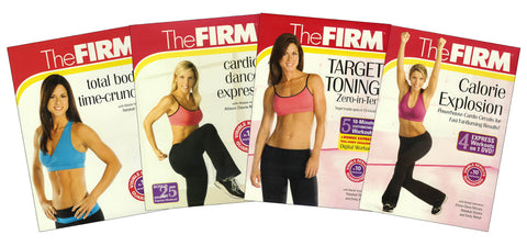 The Firm - (Total Body Time-Crunch,Cardio Dance Express,Target Toning,Calorie Explosion) (Boxset) DVD Movie
