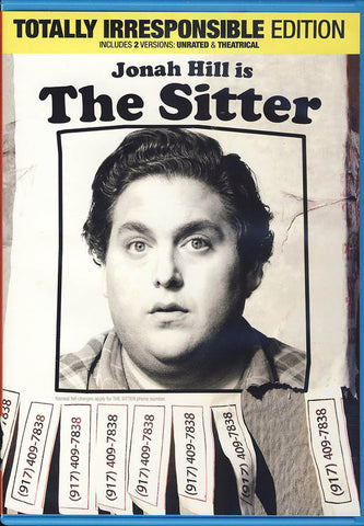 The Sitter - Totally Irresponsible Edition DVD Movie