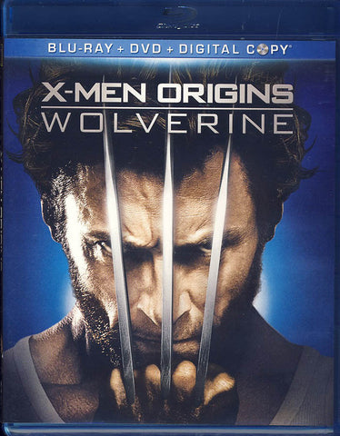 X-Men Origins: Wolverine (Blu-ray + DVD + Digital Copy) (Blu-ray) BLU-RAY Movie