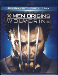 X-Men Origins: Wolverine (Blu-ray + DVD + Digital Copy) (Blu-ray)