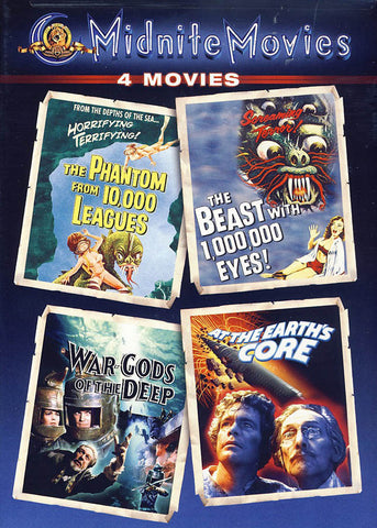 The Phantom from 10,000 Leagues / The Beast with 1,000,000 Eyes! / War Gods of the Deep / At the Ear DVD Movie