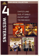 MGM 4 Westerns - Chato s Land / Duel at Diablo / Escort West / The Ride Back