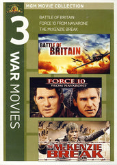 MGM 3 War Movies - The Battle of Britain / Force 10 from Navarone / The McKenzie Break