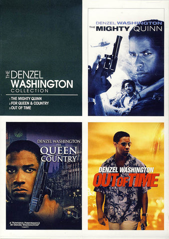 Denzel Washington Collection -The Mighty Quinn / For Queen and Country / Out of Time DVD Movie