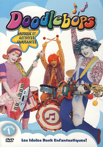 Doodlebops Vol. 1 (French version) DVD Movie