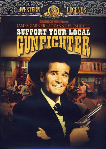 Support Your Local Gunfighter DVD Movie