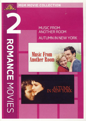 MGM 2 Romance Movies - Autumn in New York / Music From Another Room DVD Movie