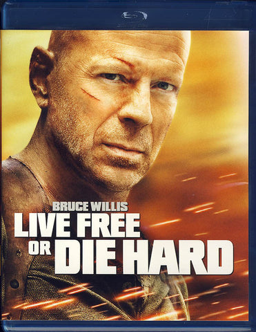Live Free or Die Hard (Blu-ray) BLU-RAY Movie