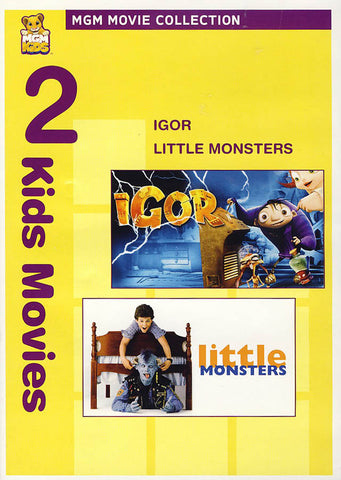 MGM 2 Kids Movies - Igor / Little Monsters DVD Movie