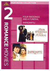 MGM 2 Romance Movies - Four Weddings and a Funeral / Impromptu