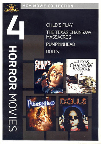 Child's Play/Texas Chainsaw Massacre/Pumpkinhead/Dolls DVD Movie