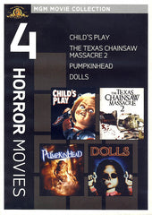 Child's Play/Texas Chainsaw Massacre/Pumpkinhead/Dolls