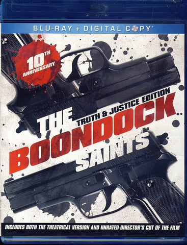 The Boondock Saints (Truth & Justice Edition)(Blu-ray+Digital COpy)(Blu-ray) BLU-RAY Movie