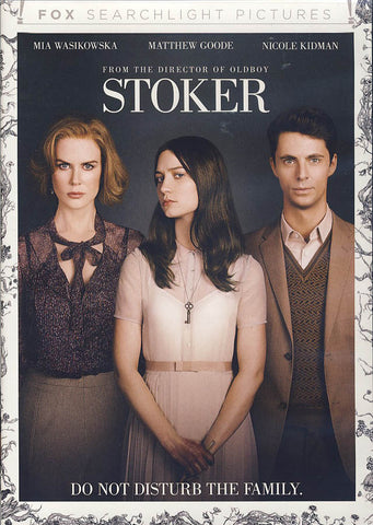 Stoker DVD Movie