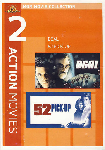 MGM 2 Action Movies - Deal/ 52 Pick-Up (Double Feature) DVD Movie
