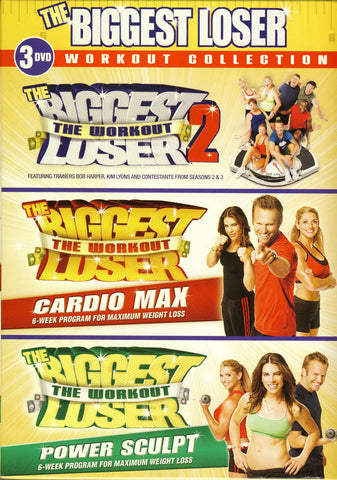 The Biggest Loser Workout Collection (Boxset) DVD Movie