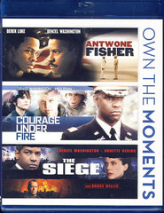 Antwone Fisher/Courage Under Fire/Siege (Triple Feature)(Blu-ray)