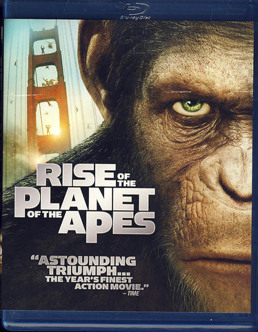 Rise Of The Planet Of The Apes (Blu-ray) BLU-RAY Movie