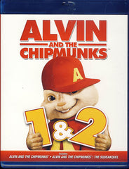 Alvin And The Chipmunks 1 & 2 Double Feature (Blu-ray)