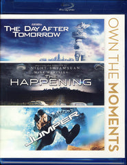 The Day After Tomorrow / The Happening / Jumper (Blu-ray)