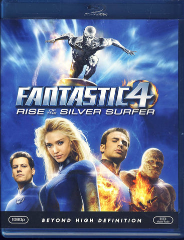 Fantastic Four: Rise of the Silver Surfer (Blu-ray) BLU-RAY Movie